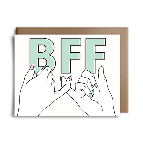 pinky promise | greeting card