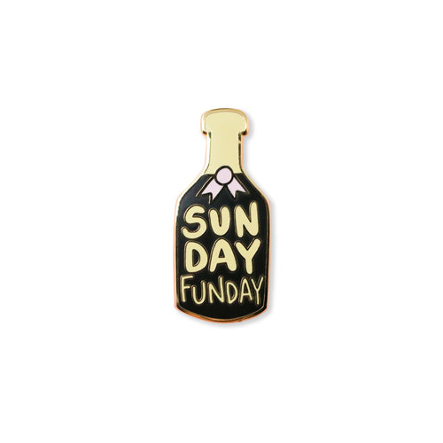 sunday funday | enamel pin