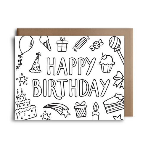 color hbd | greeting card