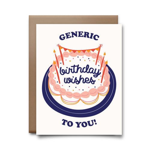 generic birthday | greeting card