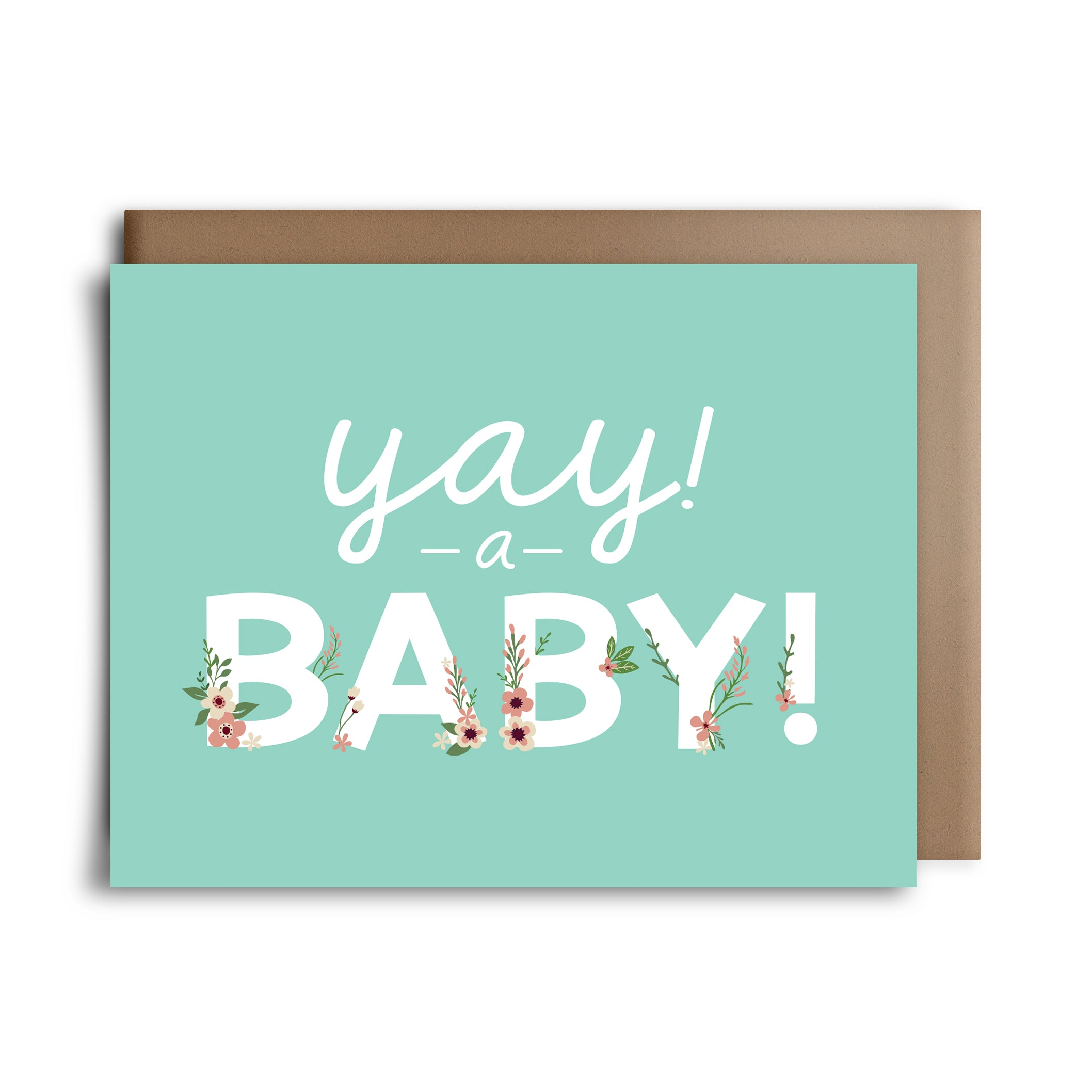 Yay A Baby Greeting Card Towne 9