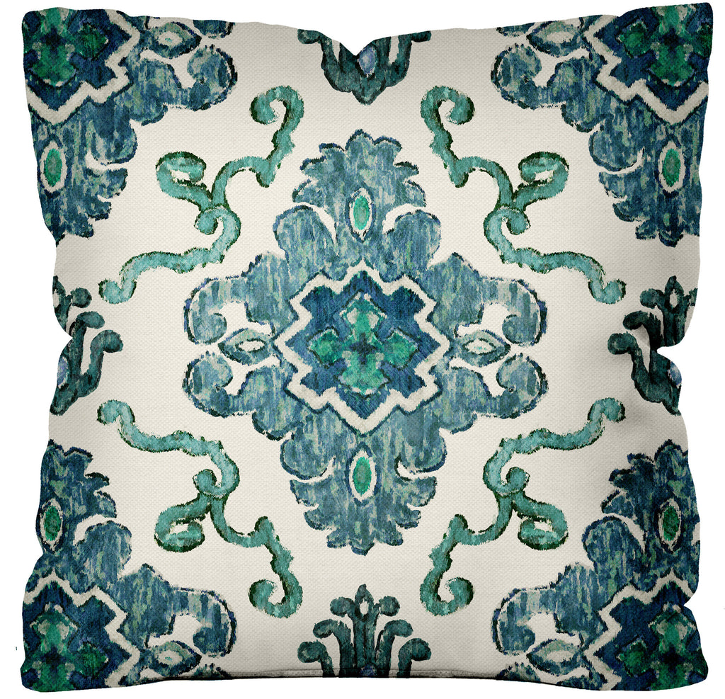 Tribal Beat Pillow ~ Indigo