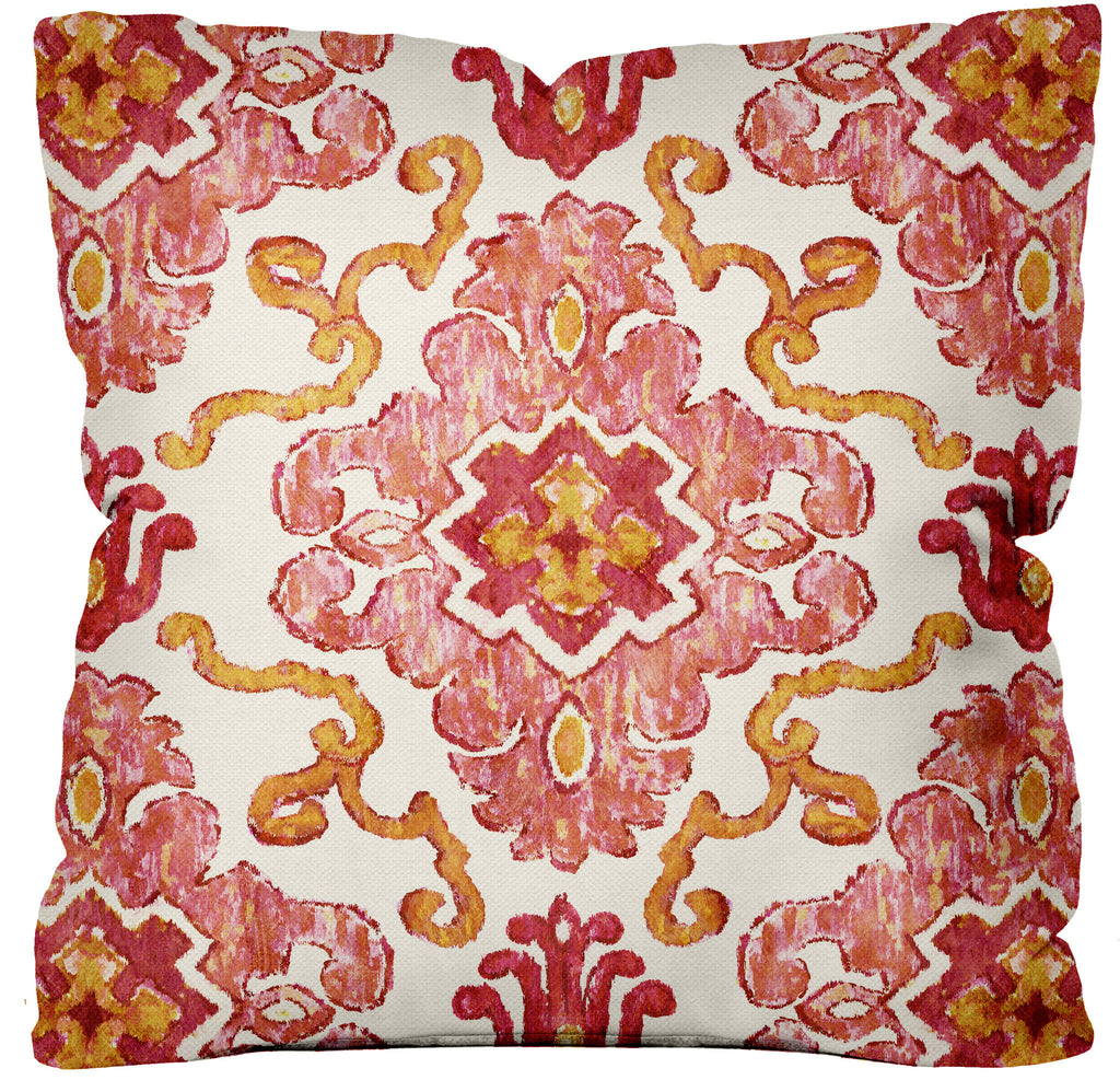 Tribal Beat Pillow ~ Blush