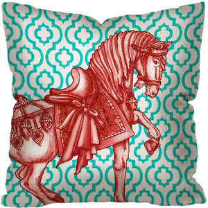 TANG HORSE II ~ TURQUOISE