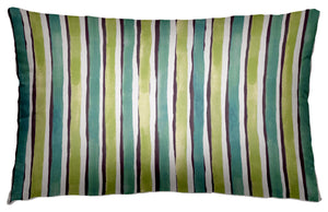 VERANDA STRIPE OUTDOOR ~ AQUA
