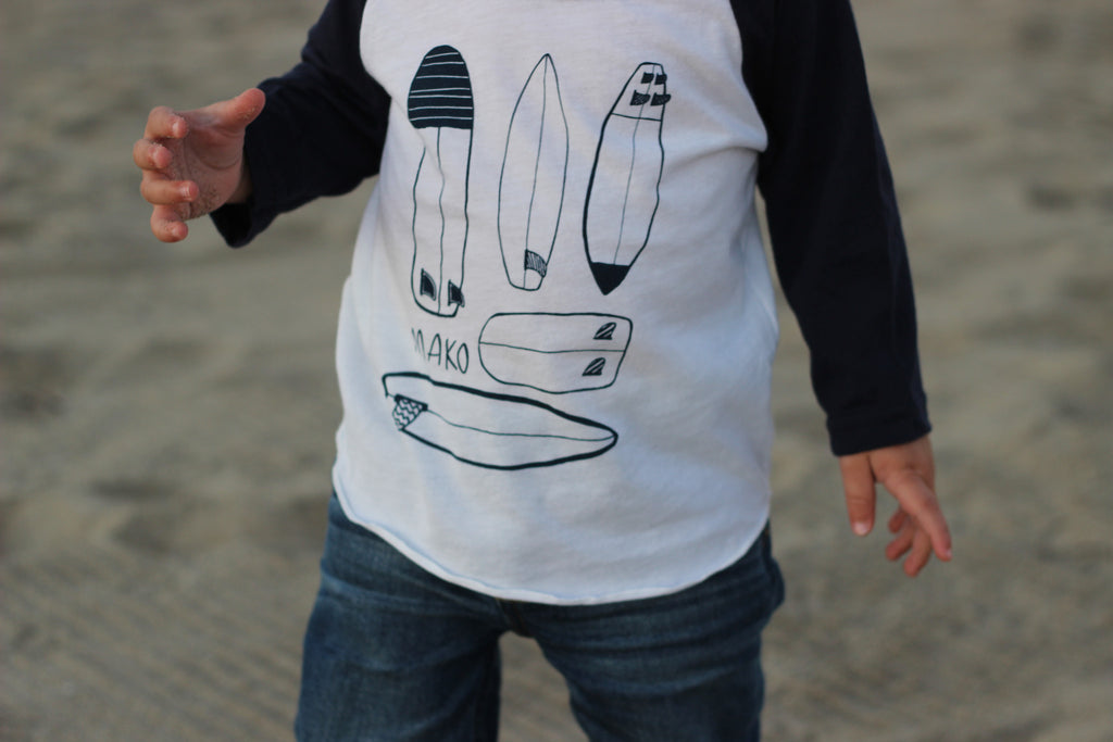 Baby Shapes Baseball Tee