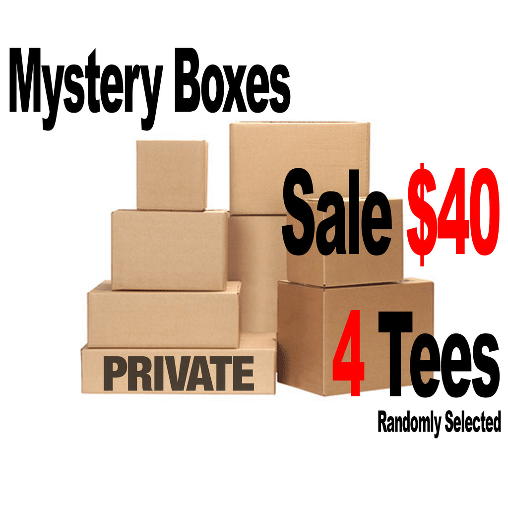PVT. Mystery Boxes - Tees (Randomly Selected)