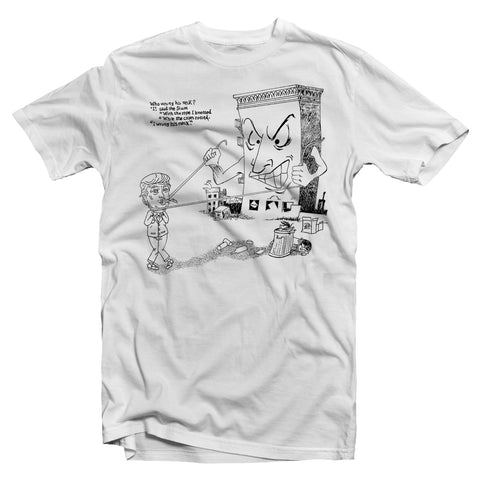 PVT. Slums v Trump Tee (White)