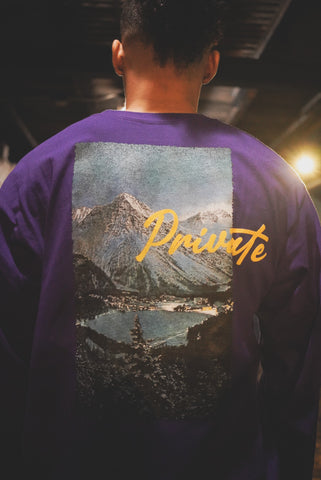 PVT. Snow Days Long Sleeve (Purple)
