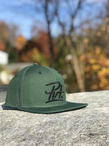 "PVT. ""Classic"" Hunter Green snapback"