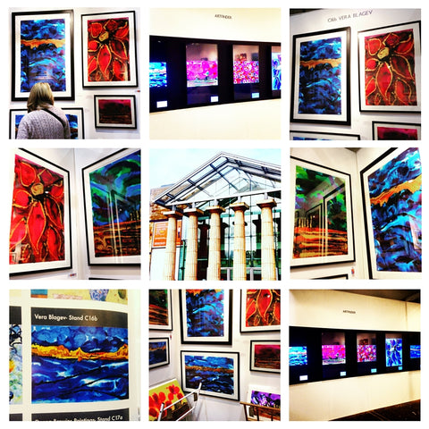 Harrogate International Visual Art Expo 2015 - art fair in Harrogate sponsored by Artfinder