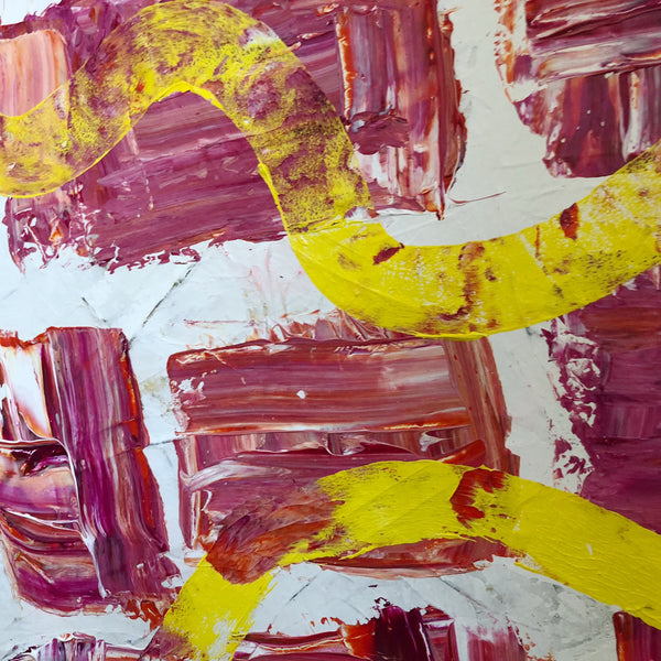 Moving Forward - Journeys Series - Original Abstract Acrylic on Canvas Painting