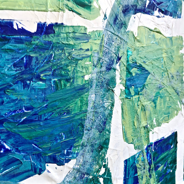 Let's Go - Journeys Series - Original Abstract Acrylic on Canvas Painting
