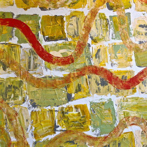 Finding Your Own Way - Journeys Series - Original Abstract Acrylic on Canvas Painting