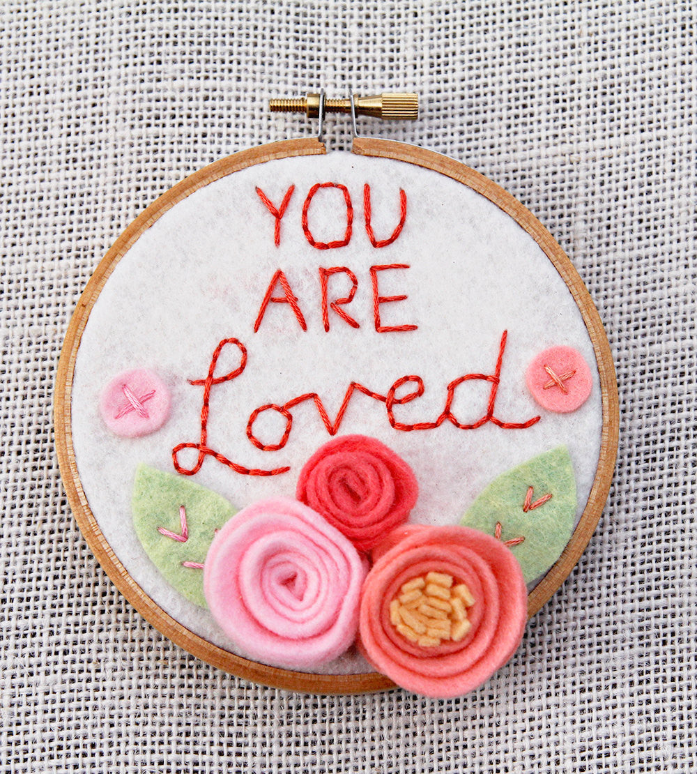 3D Wall Art - Floral - Wall Art - You Are Loved