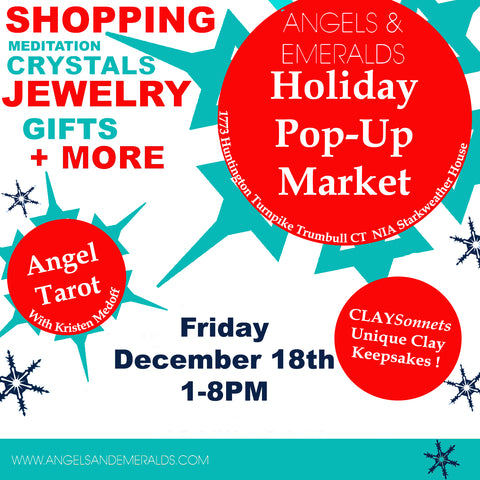 HOLIDAY POP-UP MARKET !