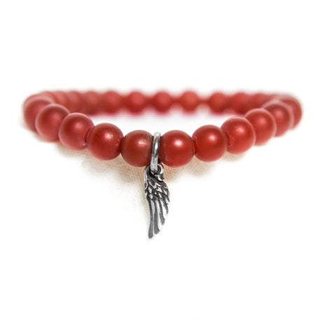 Carnelian Creativity Gemstone Bracelet