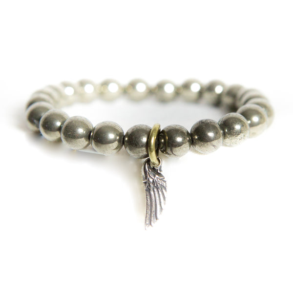 Pyrite Prosperity Gemstone Bracelet