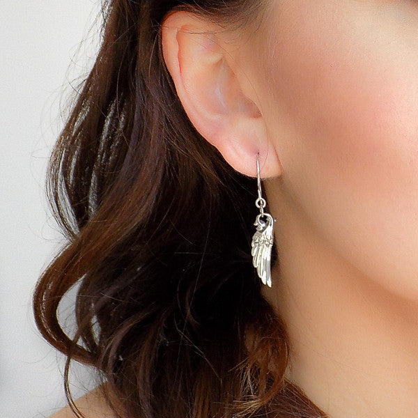 Guardian Angel Wing Earring