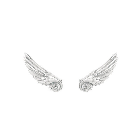 Mini Guardian Angel Wing Stud