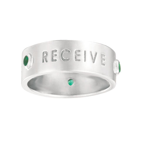 ASK, BELIEVE, RECEIVE Ring