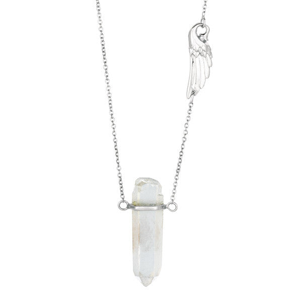 Crystal Quartz Pendant Necklace