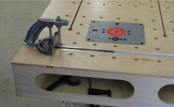 Work Bench Router Table Option