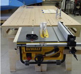 Work Bench Table Saw Mounting Kit