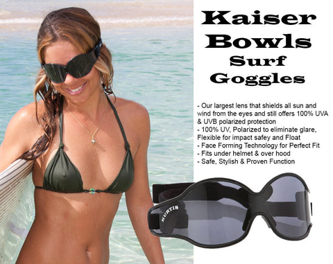 Kaiser Bowls Surfing Goggles Save Surfers Eyes