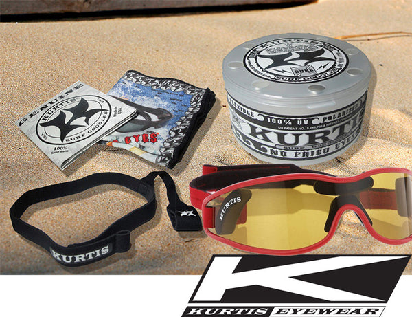 Necker Kitesurfing Eyewear with Polarized Mutating Lenses