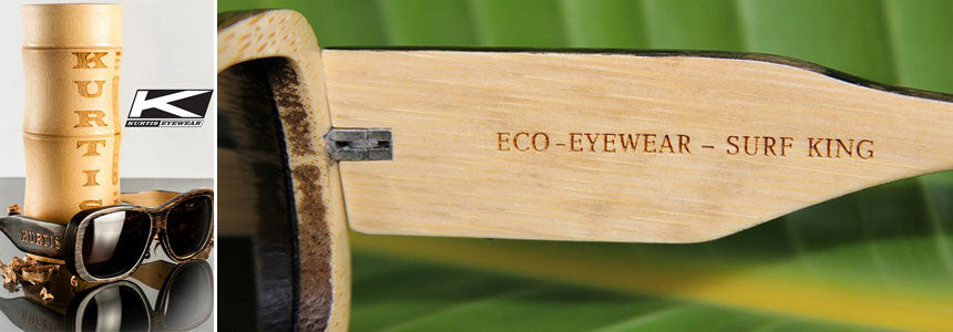 Kurtis Eco Friendly Bamboo Sunglasses