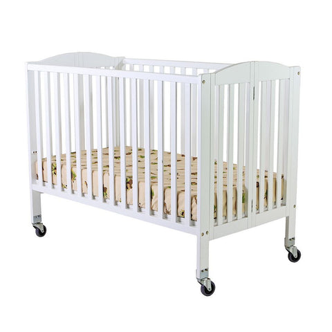 Full Size Wooden Crib & Mattress (sheet provided)