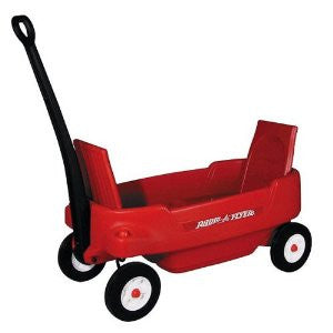 2-Seater Radio Flyer Wagon
