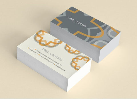 400gsm Budget Business Cards - 85mm x 55mm