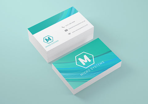 400gsm Laminated Business Cards - 85mm x 55mm