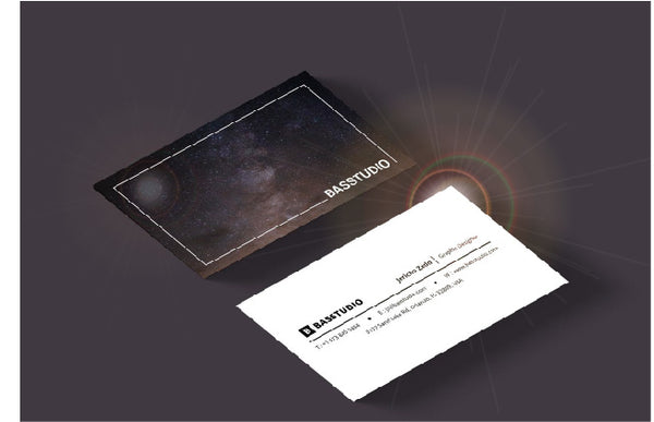 400gsm Laminated Business Cards - 85mm x 55mm - Printbots
