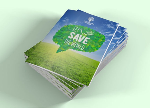 120gsm Recycled Booklets - 210mm