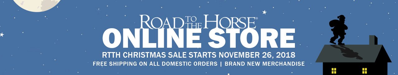 Christmas Road to the Horse shopping