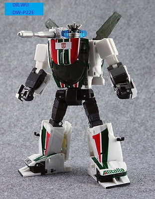 Dr Wu DW-P22E MP-22 Wheeljack Replacement Ears and Face Transformers Masterpiece