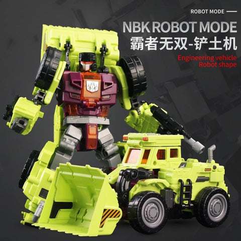 NBK-01 TF Engineering KO Generation Toys Gravity Builder Scraper