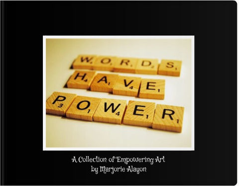Words Have Power Coffee Table Book