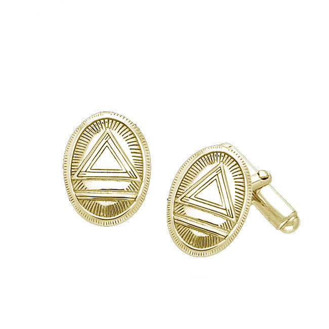 GIN 14K Gold Plated System Cufflinks