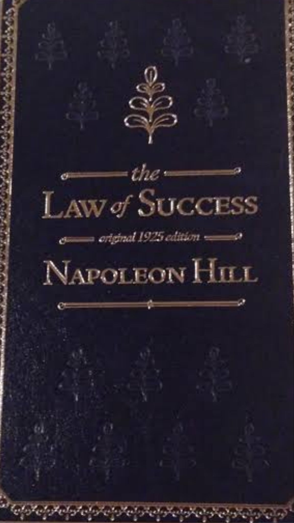 The Original Law of Success (from the 1925 manuscript)