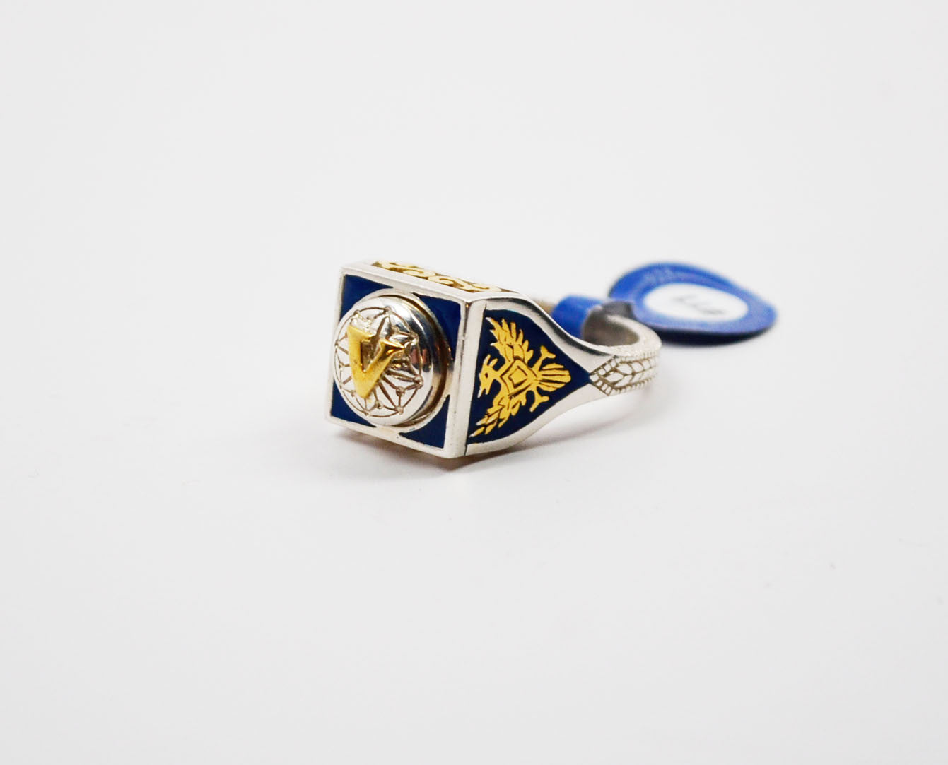 Legacy Member Level Ring Blue/Gold