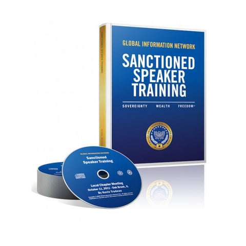 Sanctioned Speaker Training Package