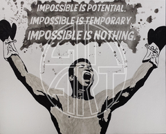 Impossible Is Nothing Poster