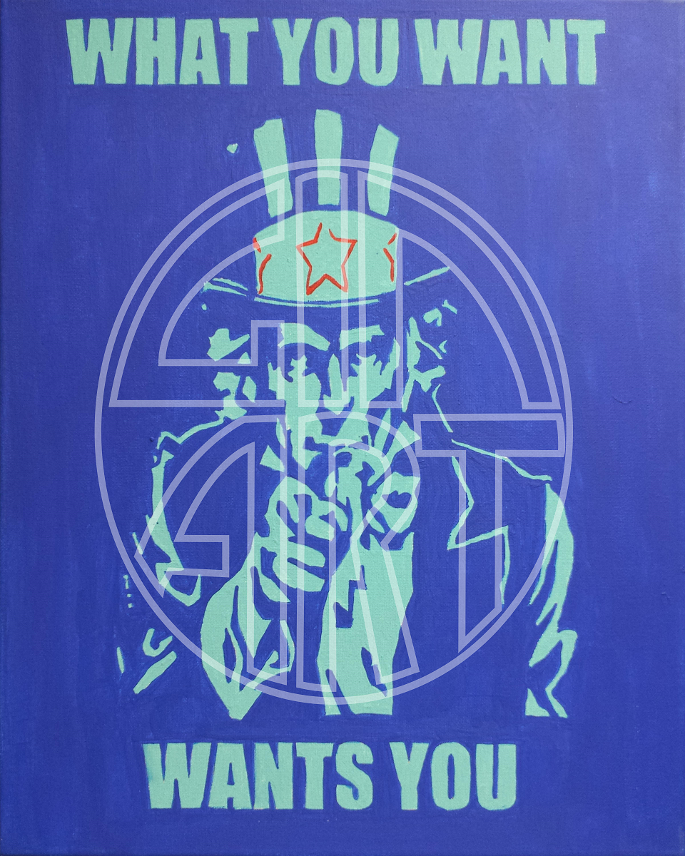 What You Want Wants You Poster