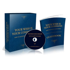 Your Wish Is Your Command 14 CD Set - with Free Guidebook Per Set Ordered - English