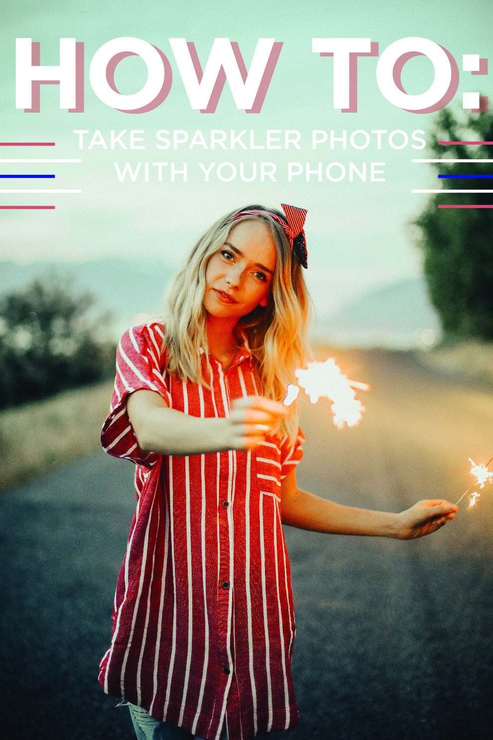 HOW TO: Take sparkler photos with your phone