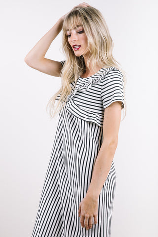 small stripes dress from Piper & Scoot